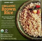 Frozen Brown Rice