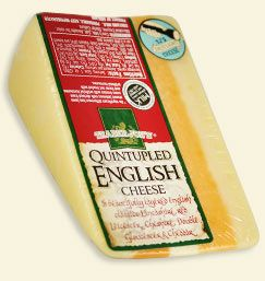 Quintupled English Cheese