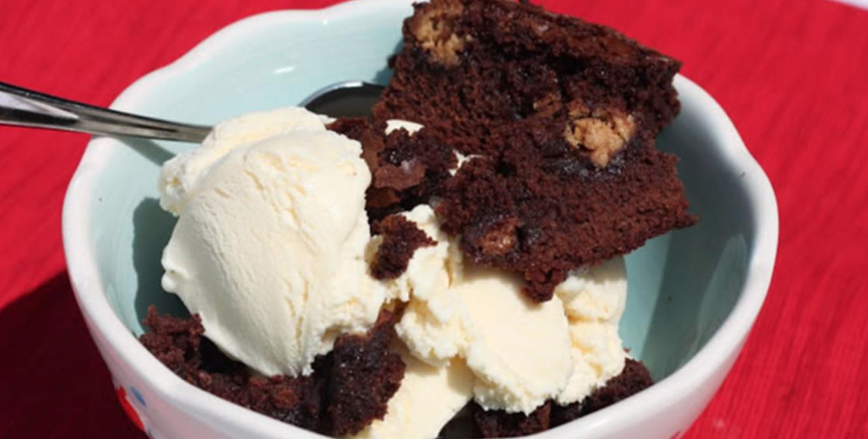 Heavenly Peanut Butter Truffle Ice Cream