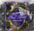 Jumbo Seedless Black Raisins