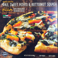 Kale Sweet Potato and Butternut Squash Pizza